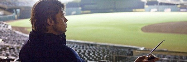 "[REVIEW] Pitt and Hill knock one over the fence in ""Moneyball."""