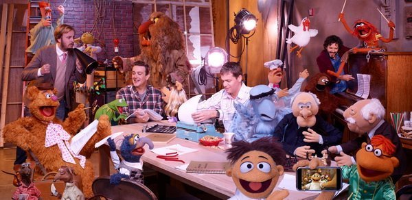 "[REVIEW] Jason Segel crafts a brilliant, triumphant return for ""The Muppets."""