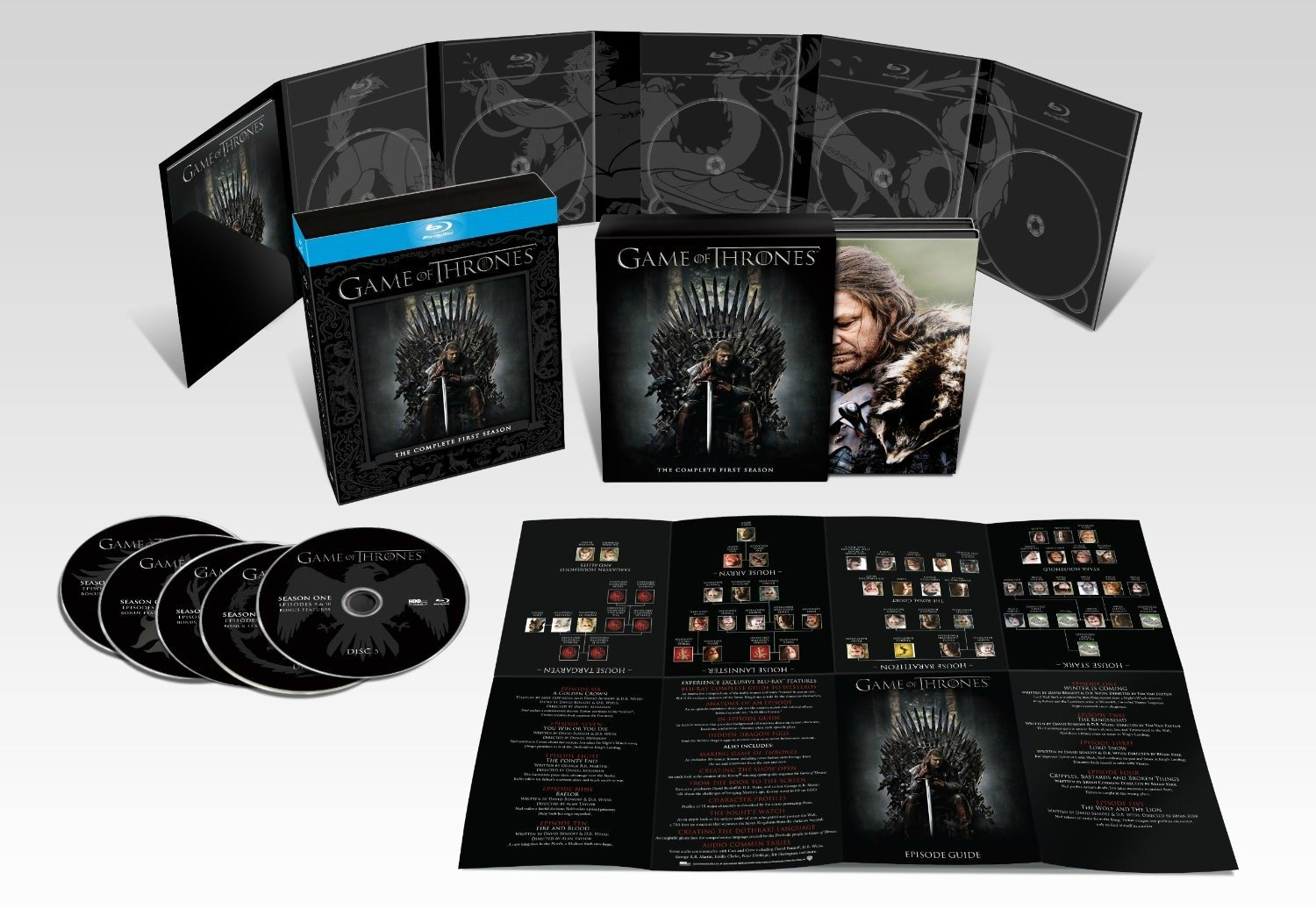 BLU-RAY REVIEW – 'Game of Thrones: Season One'