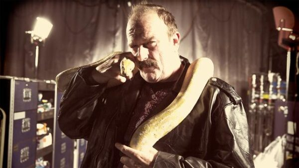 "Jake ""The Snake"" Roberts in 2014."