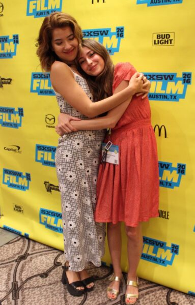 Nichole Bloom and Fabianne Therese at the 2016 SXSW Film Festival. (Photo by Alyssa Hankins)