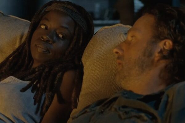 rick and michonne sdcc