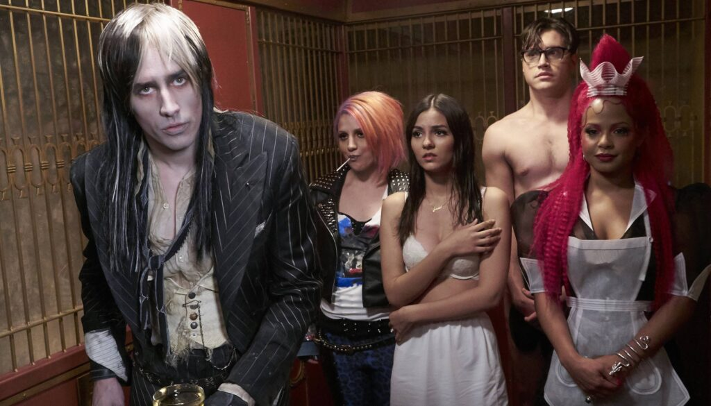 THE ROCKY HORROR PICTURE SHOW: L-R: Reeve Carne, Annaleigh Ashford, Victoria Justice, Ryan McCartan and Christina Milian in THE ROCKY HORROR PICTURE SHOW coming this Fall to FOX. ©2016 Fox Broadcasting Co. Cr: Steve Wilkie/FOX
