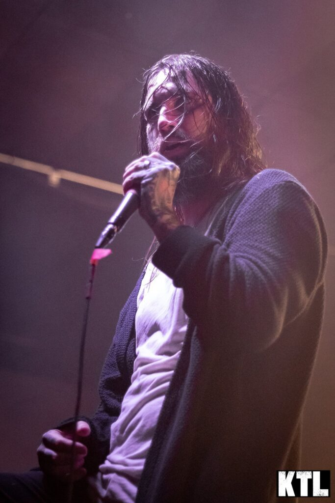 Every Time I Die performs at Club Red in Mesa, AZ. Photo Credit: Brent Hankins