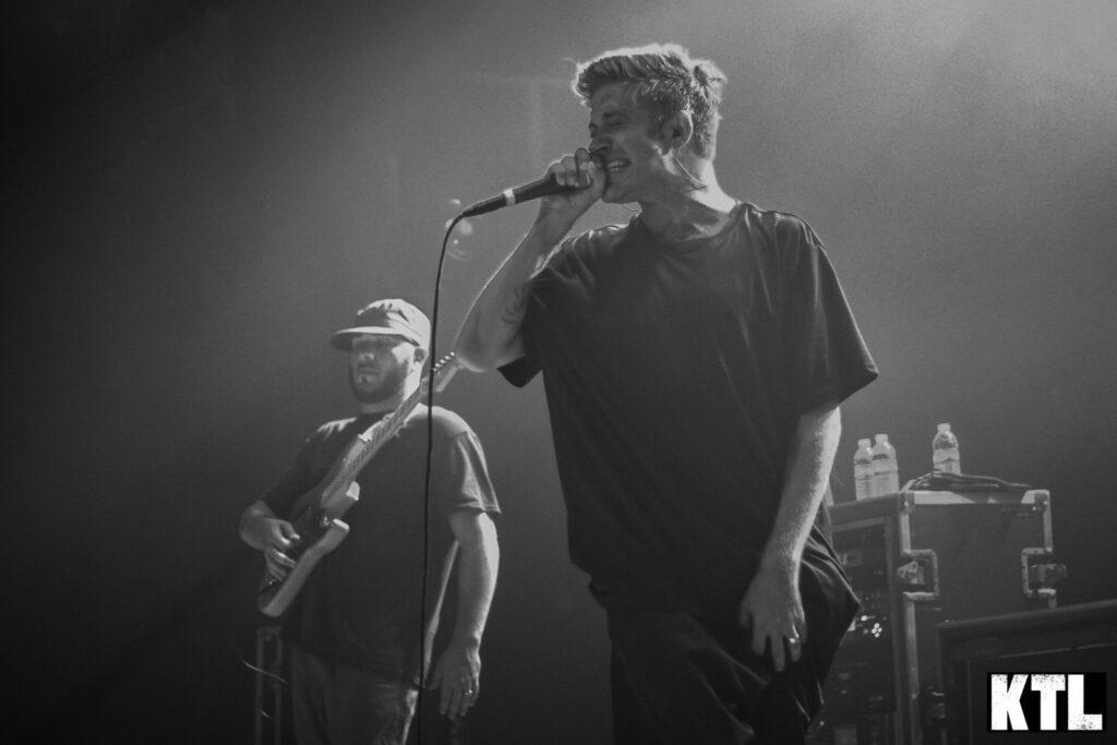 Glassjaw performs at The Van Buren in Phoenix, AZ. Photo Credit: Brent Hankins