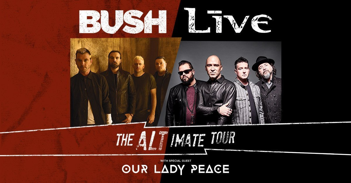 Live and Bush will embark on a co-headlining tour in summer 2019