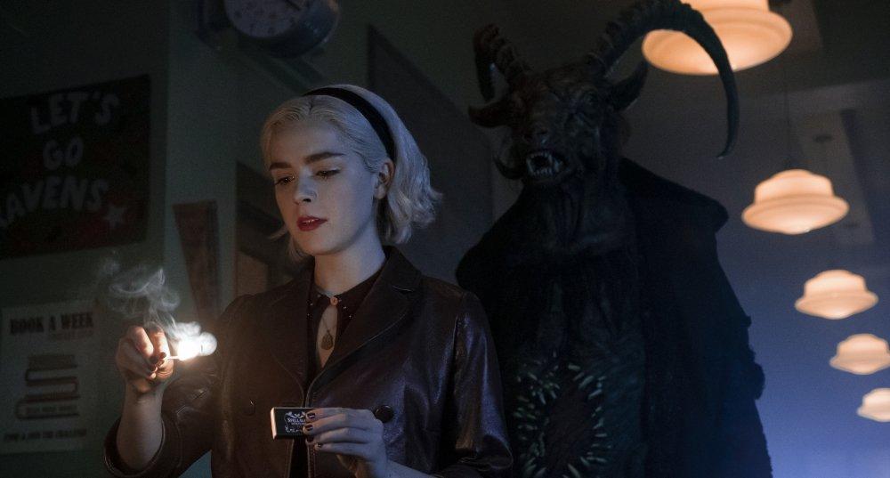 Kiernan Shipka in Chilling Adventures of Sabrina Part 2