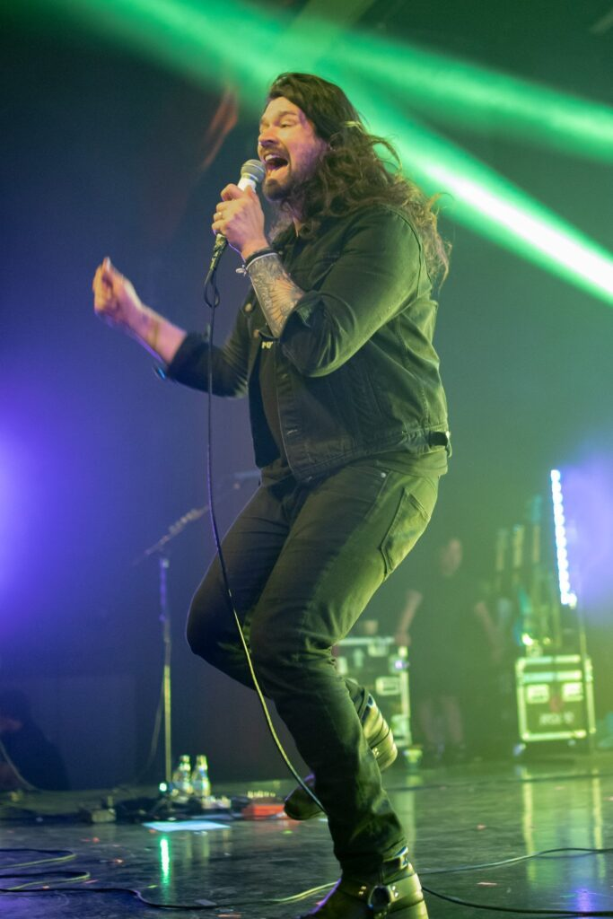 Taking Back Sunday performs at the Marquee Theater in Tempe, AZ on April 5, 2019. Photo by Brent Hankins