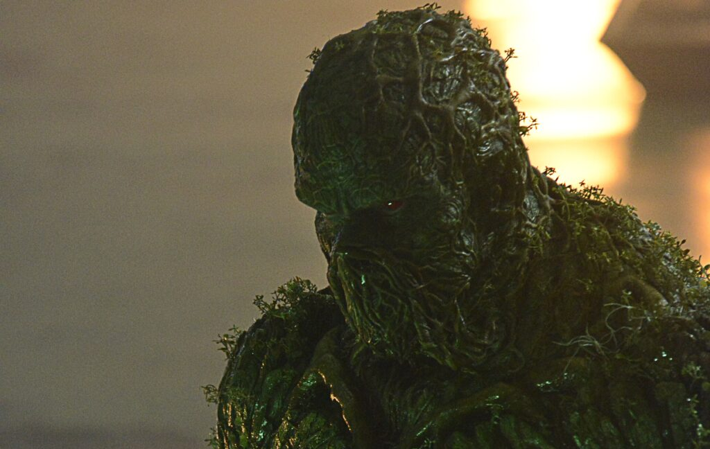 swamp thing derek mears alec holland andy bean