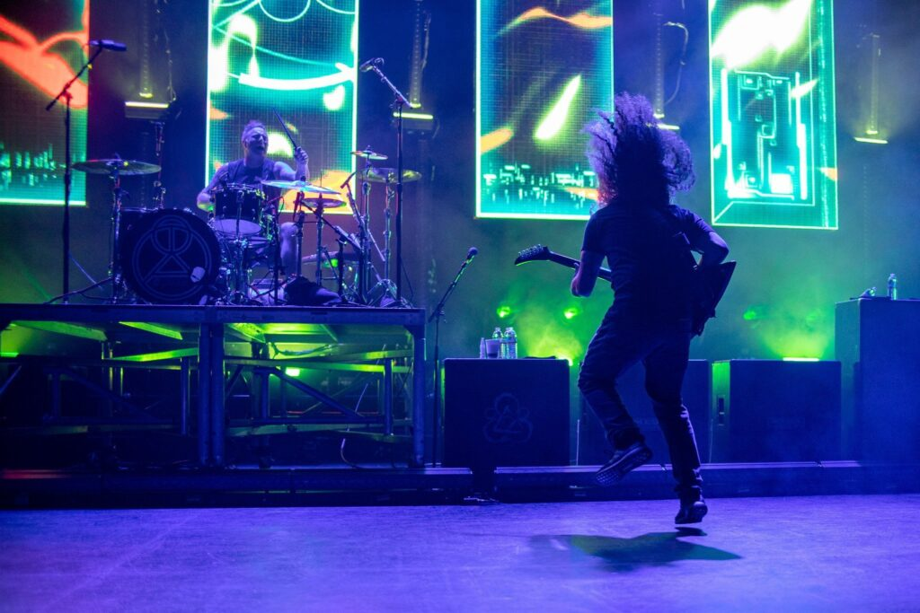 Coheed and Cambria performs at Comerica Theatre in Phoenix, AZ on June 30, 2019.