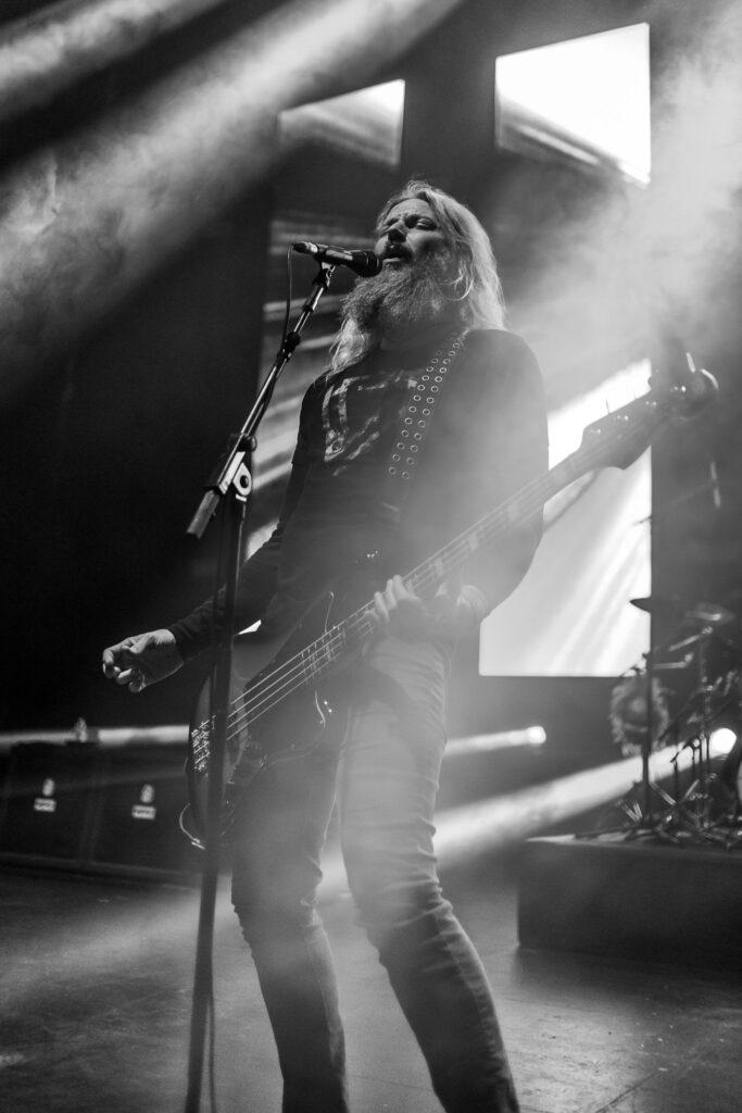Mastodon performs at Comerica Theatre in Phoenix, AZ on June 30, 2019.