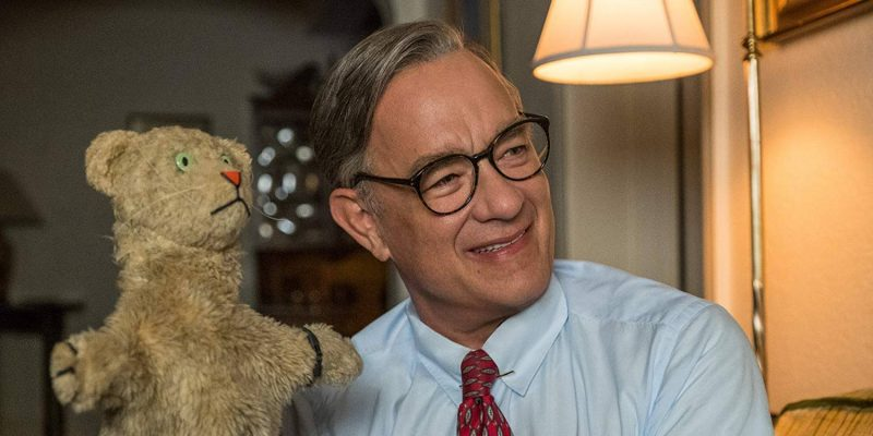 Tom Hanks as Mr. Rogers in A Beautiful Day in the Neighborhood
