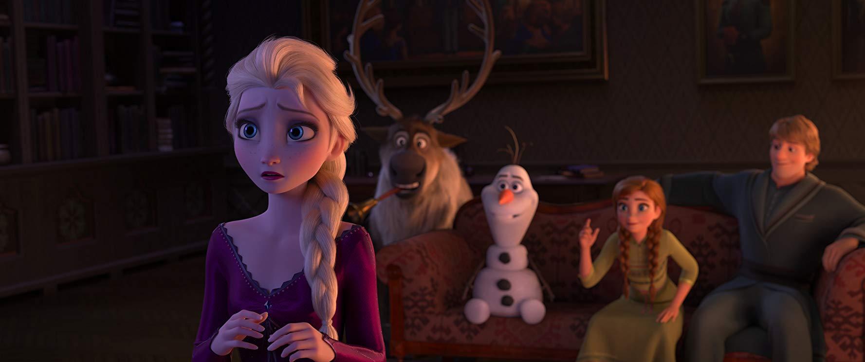 Frozen 2 supervising animator Justin Sklar on the film's craziest scene