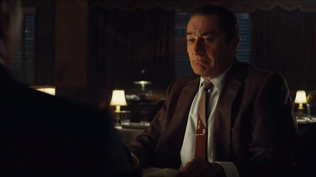 Robert De Niro in The Irishman