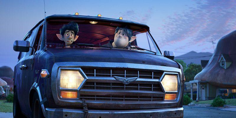 Tom Holland and Chris Pratt in Disney Pixar's Onward