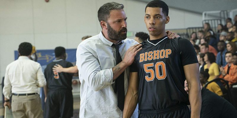 Ben Affleck and Melvin Gregg in The Way Back