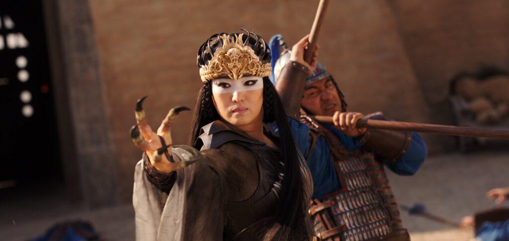 Gong Li in Disney's live-action MULAN remake