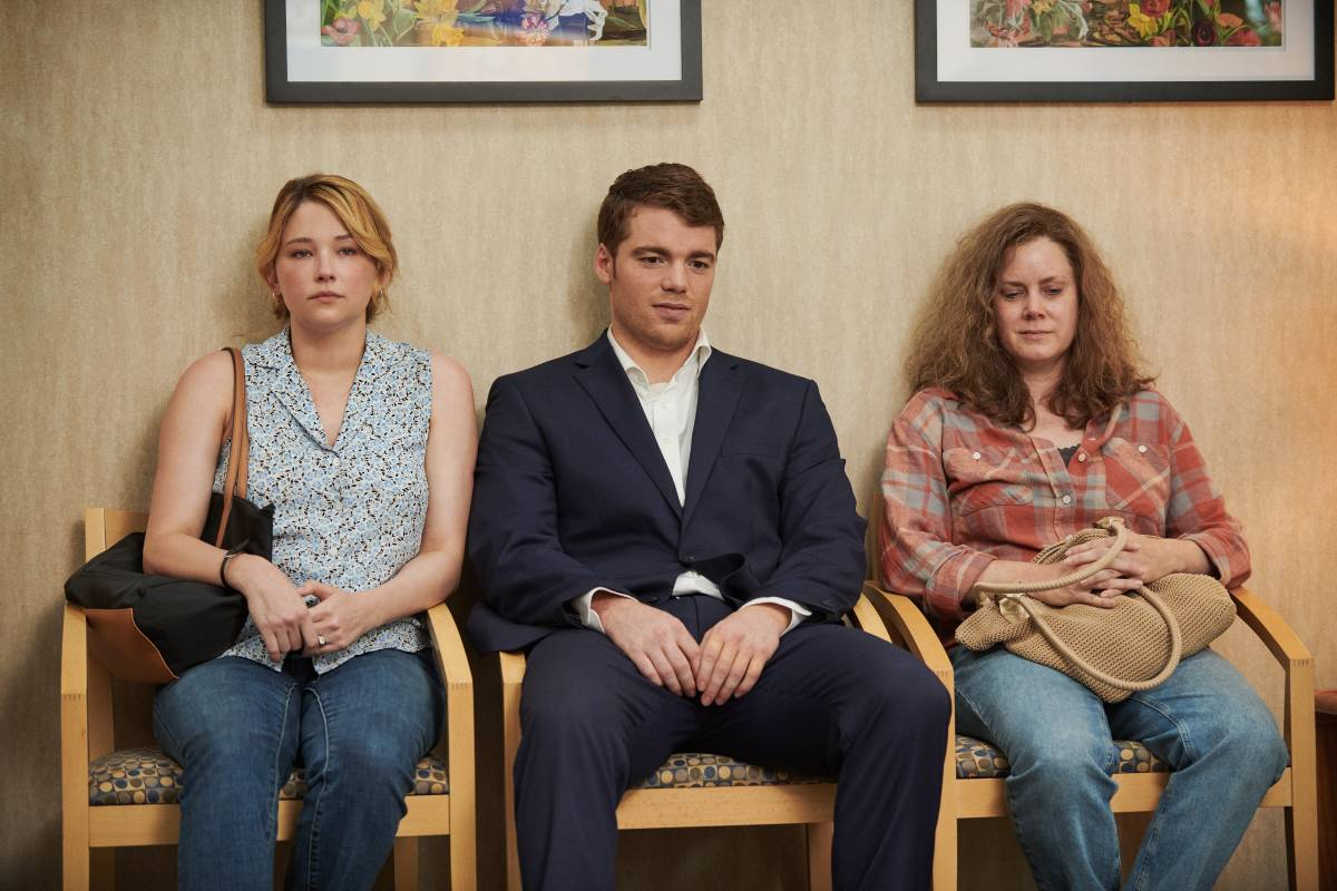 Haley Bennett, Gabriel Basso and Amy Adams in HILLBILLY ELEGY