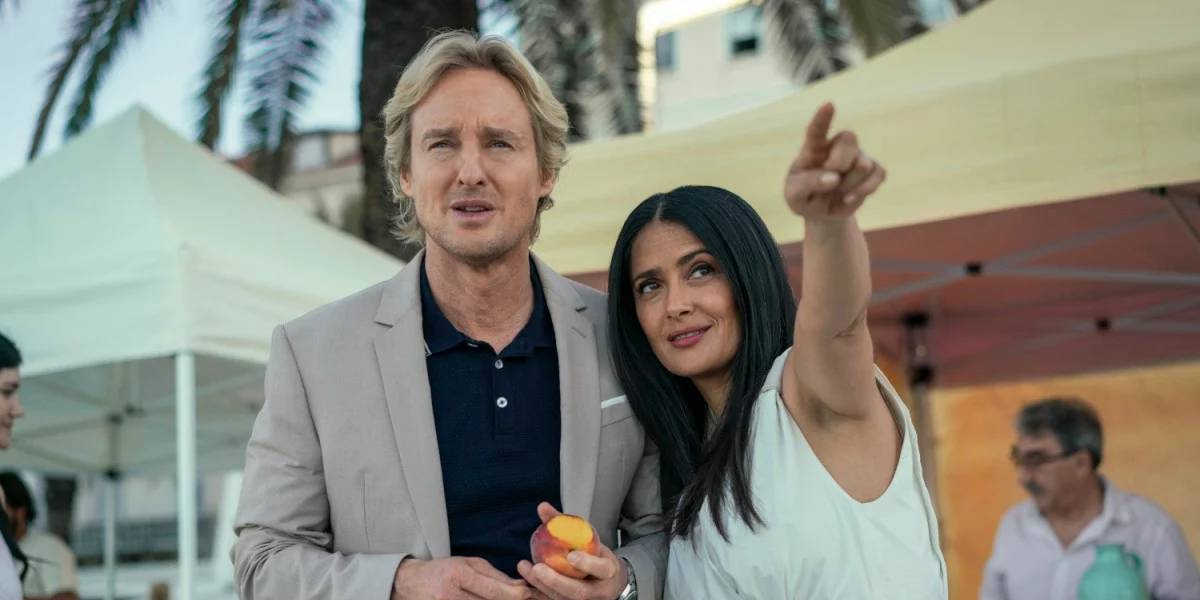Owen Wilson and Salma Hayek in BLISS
