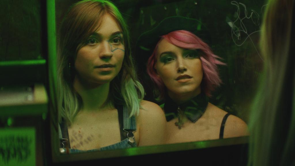 Sylvie Mix and Bobbi Kitten in POSER at the 2021 Tribeca Film Festival