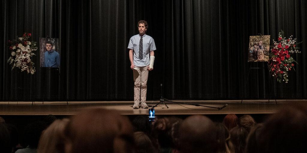 Ben Platt in DEAR EVAN HANSEN, screening at TIFF 2021