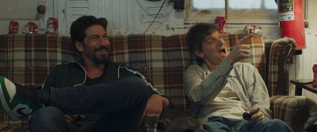 Jon Bernthal and Shea Whigham in SMALL ENGINE REPAIR