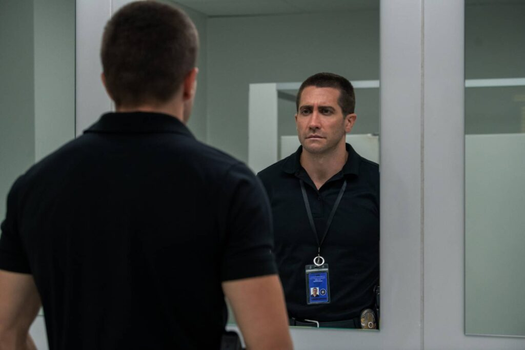 Jake Hyllenhaal in THE GUILTY at TIFF 2021